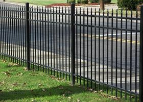 Aluminum Fence by Vinyl Fence Wholesaler - Heavy Duty Aluminum Fence Factory Direct.  507-206-4154  www.vinylfenceanddeck.com