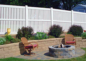 Semi Privacy Fence Heavy-Duty