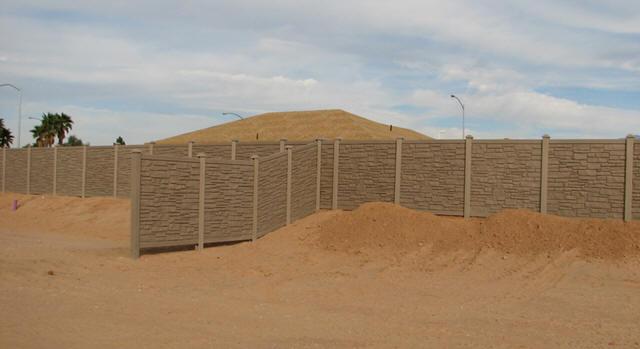 Simulated Stone Fence Simtek Fence Ecostone Factory