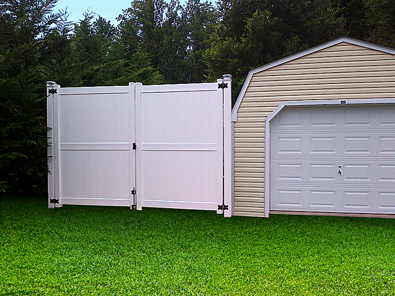 vinyl fence double gate. Our Vinyl Fence Double Gate E