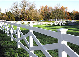 crossbuck 3 rail fence