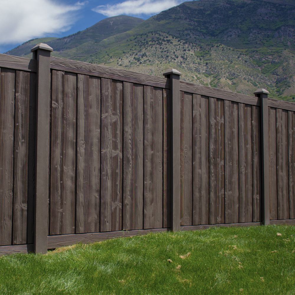 Ashland privacy fence panels simtek ashland fence for Fences privacy