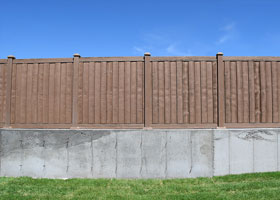 6 Foot Tall Ashland privacy fences