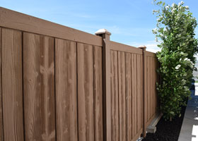 8 foot tall Ashland privacy fence