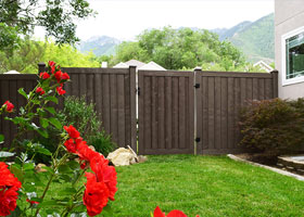 Ashland Privacy Fence Gate