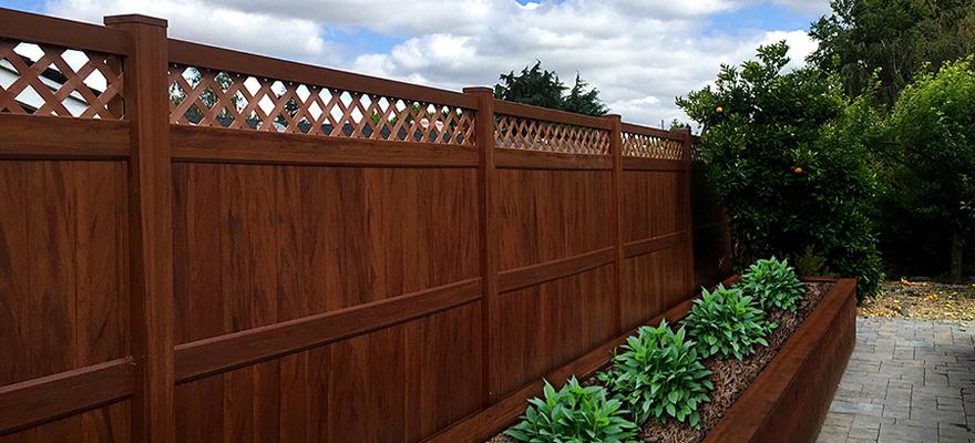 Wood Grain Vinyl Fence Price Project PDF Download ...