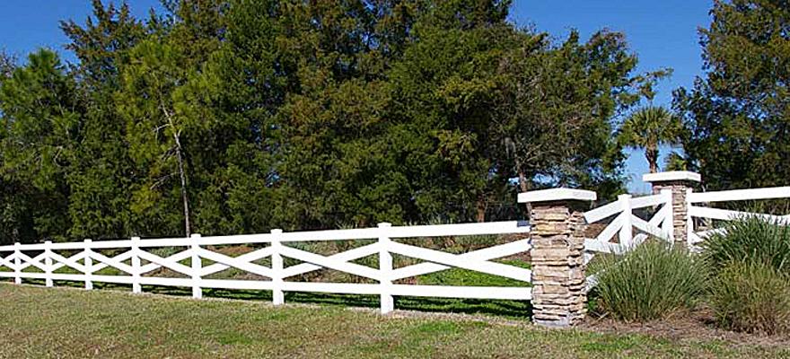 Crossbuck Ranch Fence