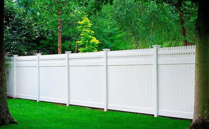 Vinyl Privacy Fence Panels | Heavy Duty Vinyl Privacy Fencing ...