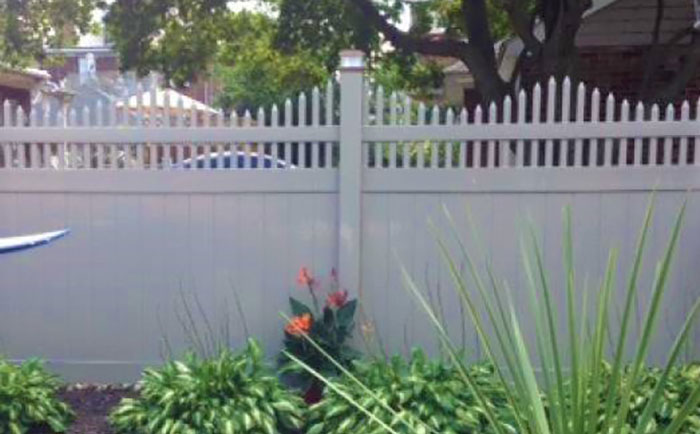 Heavy Duty New York Vinyl Fence and New York Privacy Fence Panels