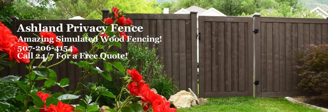 ashland privacy fence