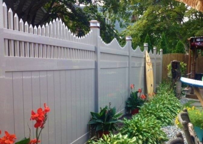 Vinyl Privacy Fence Panels Heavy Duty Vinyl Privacy
