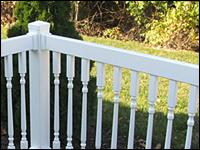 boston vinyl railing