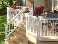 salem vinyl railing