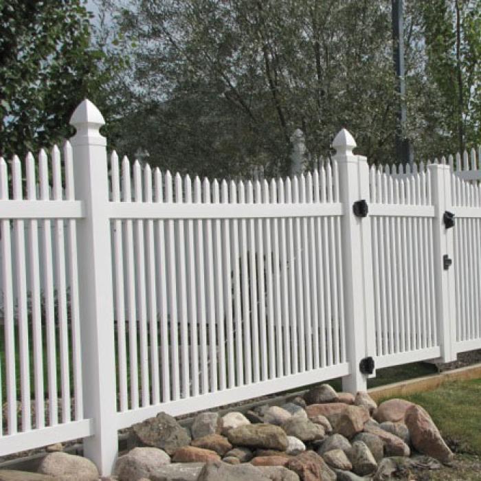 Sacramento Picket Fence A Vinyl Fence Wholesaler