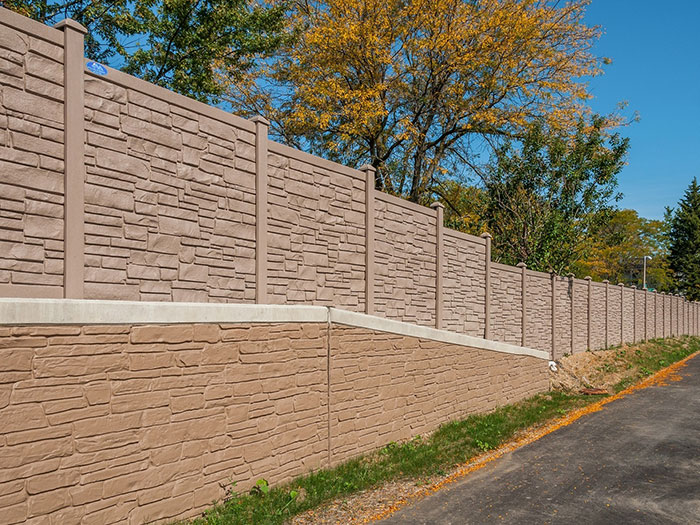 Simulated Stone Fence | Simtek Fence + EcoStone | Factory Direct