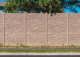 Auroa simulated stone fence IDOT