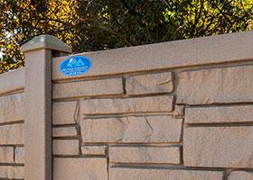 EcoStone Fence IDOT