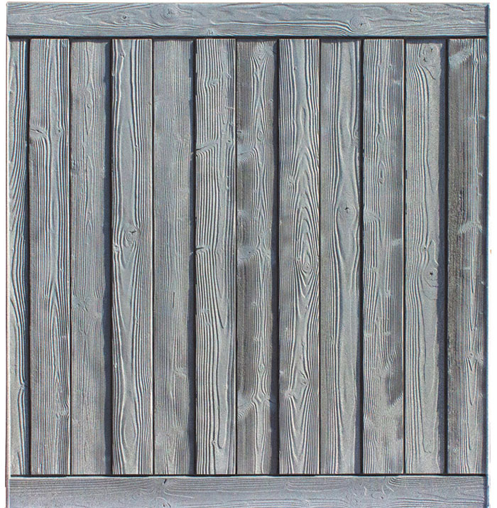 Ashland 8' tall privacy fence panel