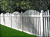 Olympia Picket Fence