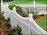 Sacramento Picket Fence