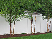 Rainier Heavy Duty Vinyl Privacy Fence