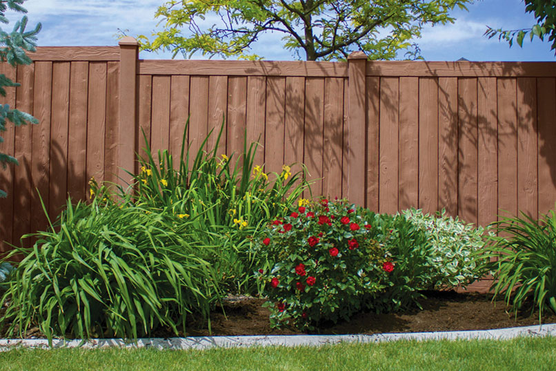 Ashland privacy fence panels simtek ashland fence factory direct - Vinyl railing reviews ...
