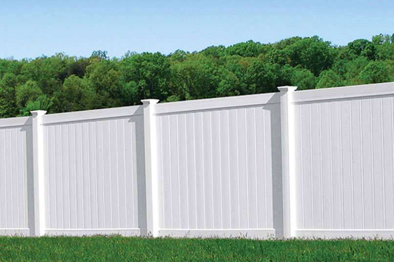 Vinyl Privacy Fence 91