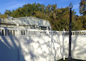 California Vinyl Fence