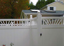 Heavy Duty California Vinyl Fencing