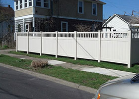 Texas Vinyl Privacy Fencing