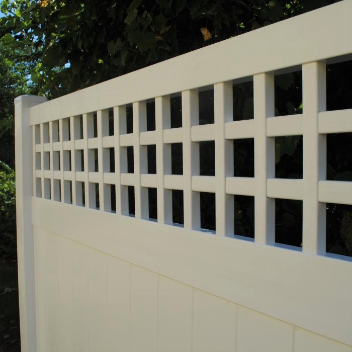 Illinois Vinyl Privacy Fence Chicago Privacy Fence Factory Direct