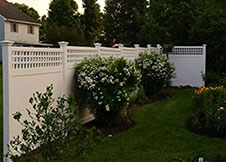 Illinois Vinyl Privacy Fence