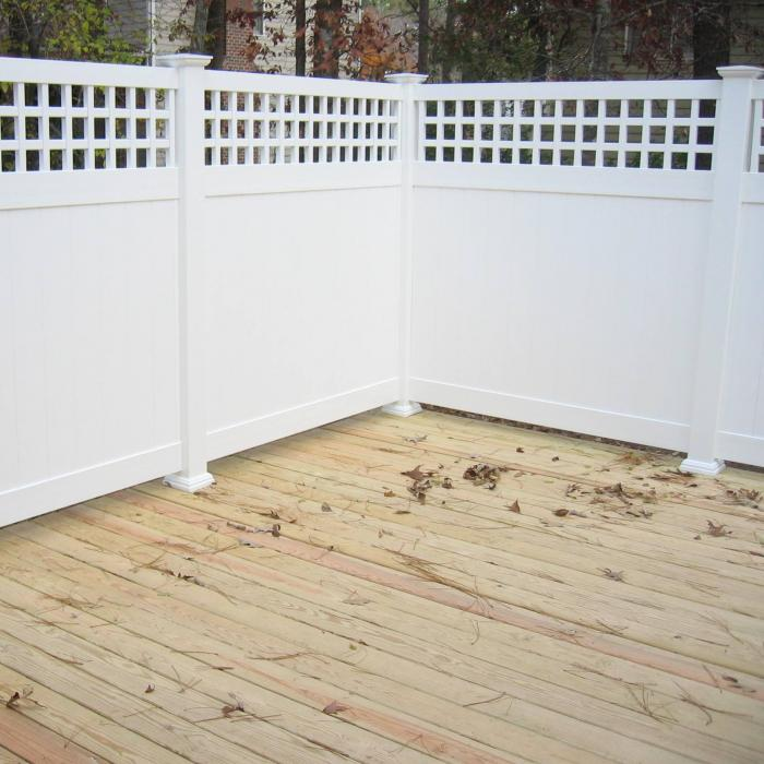 Illinois Vinyl Privacy Fence | | Wind Certified Privacy Fence ...