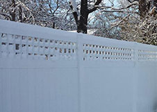 Heavy Duty Illinois Vinyl Fence