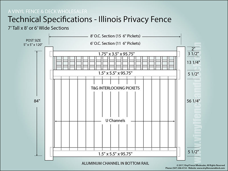 Illinois Vinyl Fences