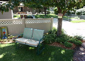 10' tall privacy fence