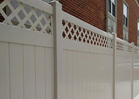 4 foot tall privacy fence