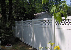 5' tall privacy fence