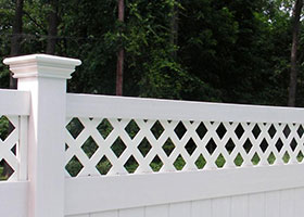 6' tall privacy fence