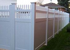 Minnesota Vinyl Privacy Fence panel