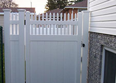 Minnesota Vinyl Privacy Fence