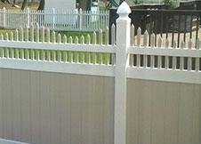 New York Vinyl Privacy Fence