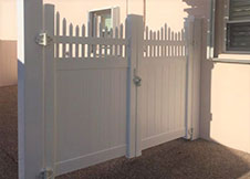 New York Privacy Fence Double Gate