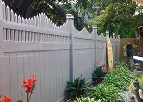 New York Vinyl Fence Panel