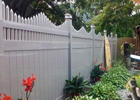 New York Vinyl Fence Panel