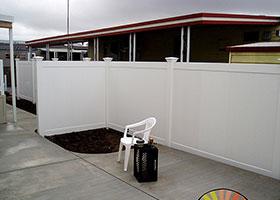 heavy duty privacy fence