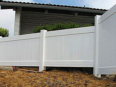 vinyl fence panel