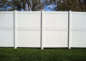 strongest privacy fence panels