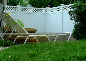 tall privacy fences