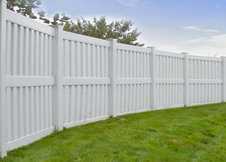 Florida privacy fence panels by Vinyl Fence Wholesaler